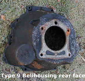 Ford bellhousing front